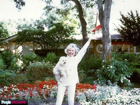 Doris Day amerikai színésznő 2014. április 2-án (Forrás: Twitter)