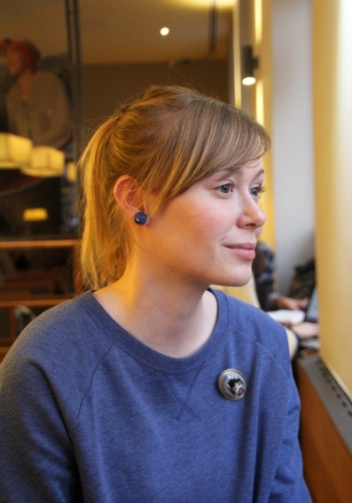 Kiss Diána Magdolna színésznő (Fotó: Mészáros Márton)