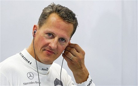 Michael Schumacher hétszeres Forma-1-es világbajnok