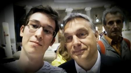 Orbán Viktor miniszterelnök úrral Rómában 2014. április 26-án