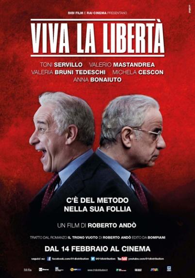 A Viva la libertá - Éljen a szabadság! című olasz film plakátja