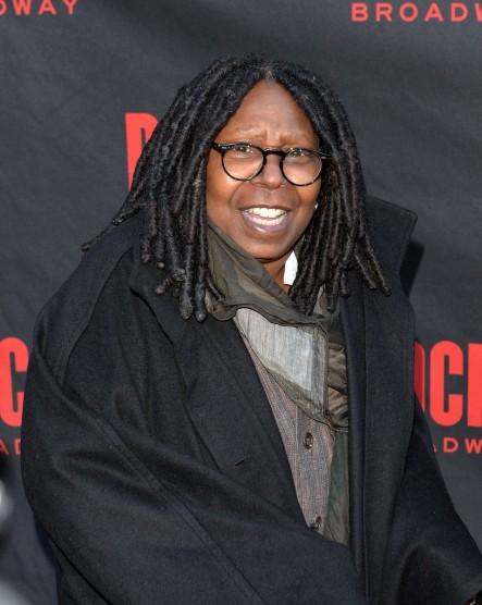 Whoopi Goldberg Oscar-díjas amerikai színésznő