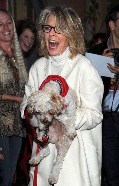 Diane Keaton Oscar-díjas amerikai színésznő