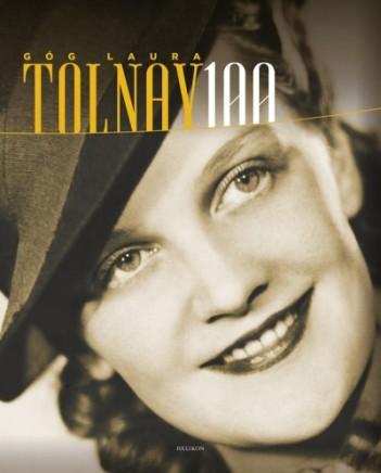 "Góg Laura ""Tolnay 100"" című könyvének borítója"