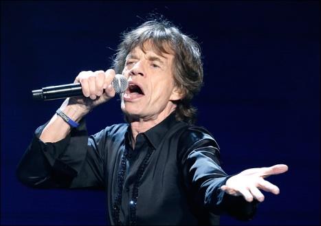 Mick Jagger brit zenész