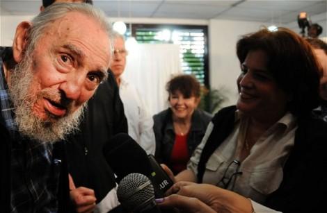 Fidel Castro volt kubai diktátor egy 2013-ban készült felvételen