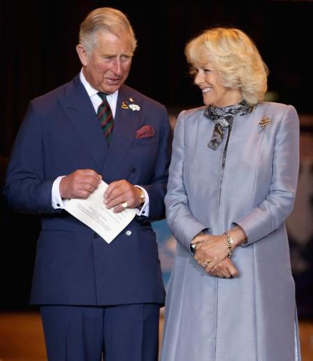 Károly brit trónörökös és Camilla hercegnő a kanadai Winnipegben 2014. május 21-én