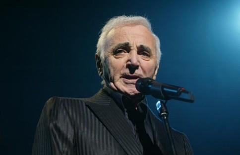 Charles Aznavour francia énekes
