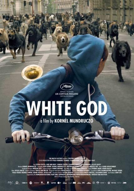A Fehér Isten című film angol nyelvű plakátja