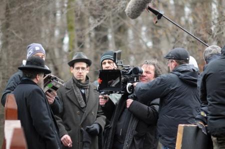 Forgatási fotó Gárdos Péter Hajnali láz című filmjéből