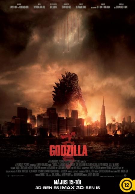 A Godzilla című film plakátja