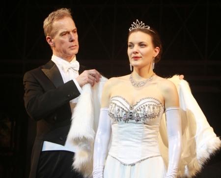 Hirtling István és Radnay Csilla színművészek a My Fair Lady című musicalben