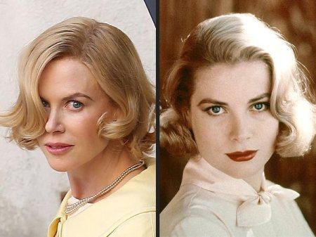 Nicole Kidman Oscar-díjas ausztrál színésznő és Grace Kelly Oscar-díjas amerikai színésznő, monacói hercegné