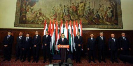 A második Orbán-kormány tagjai