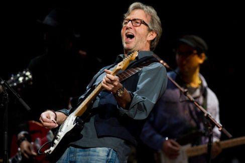 Eric Clapton Grammy-díjas brit zenész