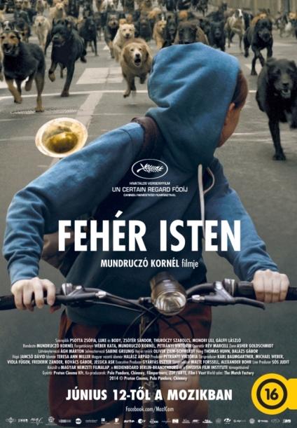 A Fehér Isten című film plakátja