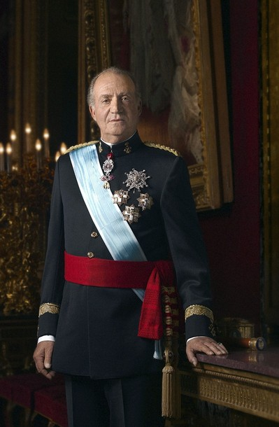 János Károly spanyol király 2010. május 3-án