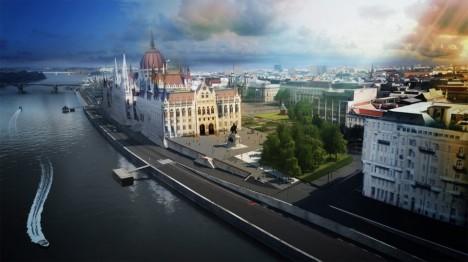 A felújított Budapest látványképe