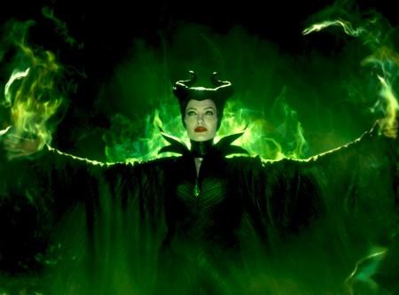 Angelina Jolie a Demóna (Maleficient) című film egyik jelenetében