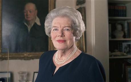 Mary Soames (1922-2014), Winston Churchill leánya