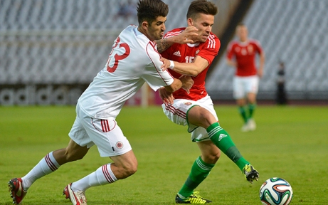 Magyarország-Albánia barátságos labdarúgó-mérkőzés a Puskás Ferenc Stadionban 2014. június 4-én