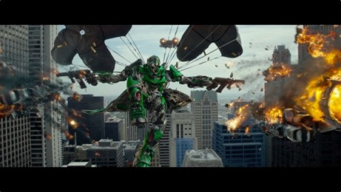Jelenet a Transformers: A kihalás kora című filmből