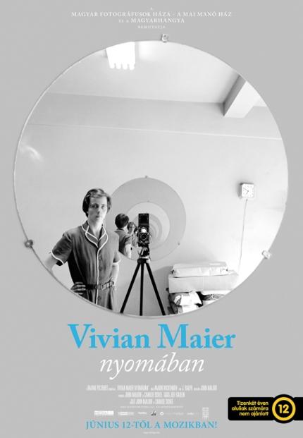 A Vivian Maier nyomában című dokumentumfilm plakátja