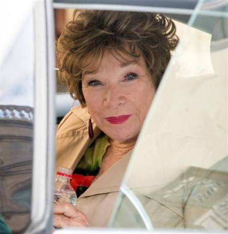 Shirley MacLaine amerikai színésznő a Wild Oats című filmje forgatásán a Kanári-szigeteken