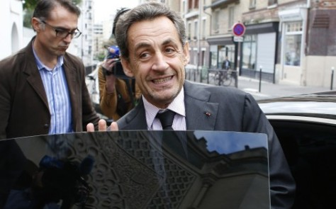 Nicolas Sarkozy volt francia elnök