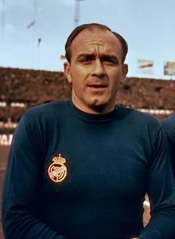 Alfredo di Stéfano argentin-spanyol labdarúgó (1926-2014)