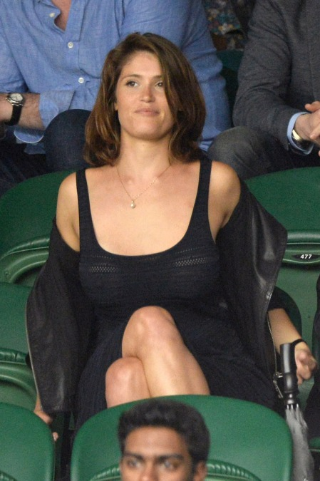 Gemma Arterton brit színésznő Wimbledonban 2014. június 28-án