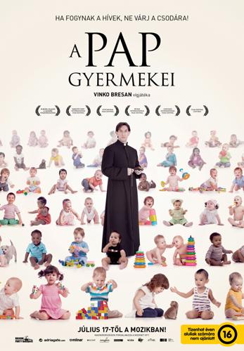 A pap gyermekei című horvát film plakátja
