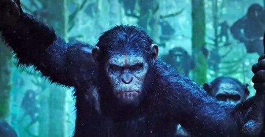 Jelenet a A majmok bolygója - Forradalom (Dawn of the Planet of the Apes) című filmből