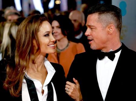 Angelina Jolie és Brad Pitt Oscar-díjas amerikai színészek