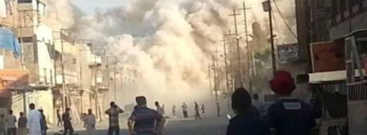 Jónás próféta mecsetének felrobbantása az iraki Moszulban 2014. július 24-én