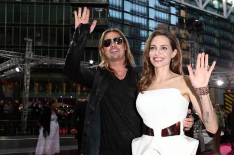 Brad Pitt és Angelina Jolie Oscar-díjas amerikai színészek