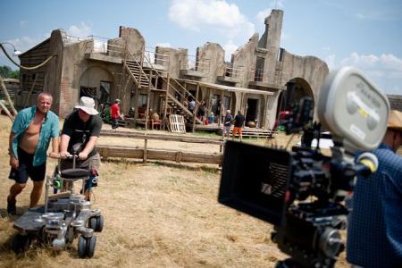 A Délibáb című film  forgatása 2013 júliusában
