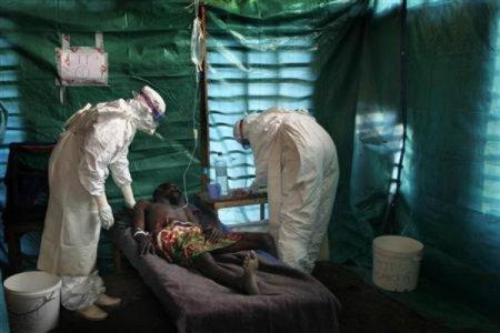 Ebolával fertőzött beteget kezelnek Nyugat-Afrikában