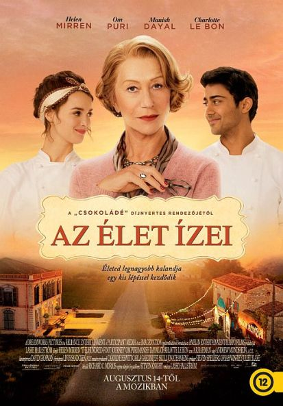 Az élet ízei (The Hundred-Foot Journey) című film plakátja
