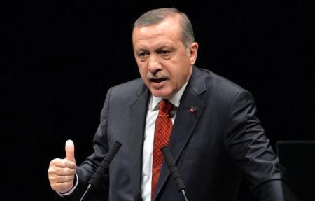 Recep Tayyip Erdogan török kormányfő, megválasztott elnök