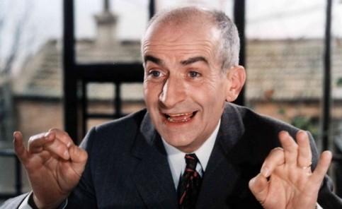 Louis de Funés francia komikus színész (1914-1983)
