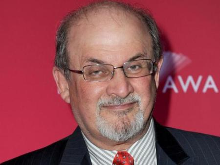 Salman Rushdie indiai származású brit író