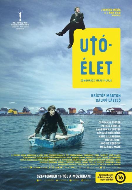 Az Utóélet című film plakátja