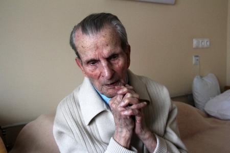 Gallai Rezső, Magyarország legidősebb polgára (1904-2010) - Mészáros Márton felvétele -