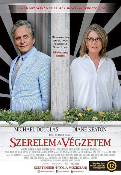 A Szerelem a végzetem (And So It Goes) című film magyar plakátja