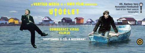 """Zomborácz Virág """"Utóélet"""" című filmjének plakátja"""