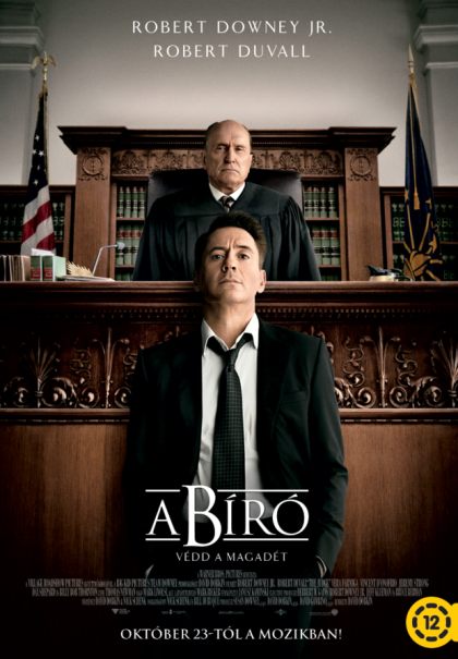 A bíró (The Judge) című film plakátja