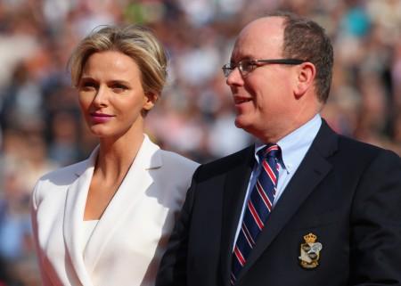 II. Albert monacói herceg és Charlene hercegné