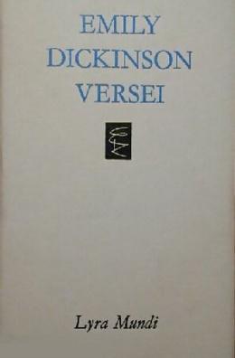 Emily Dickinson versei