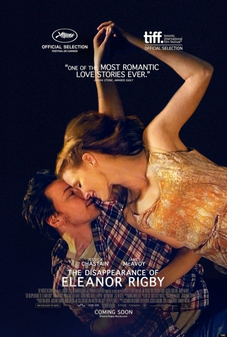 Az egy szerelem története (The Disappearance of Eleanor Rigby) című film plakátja